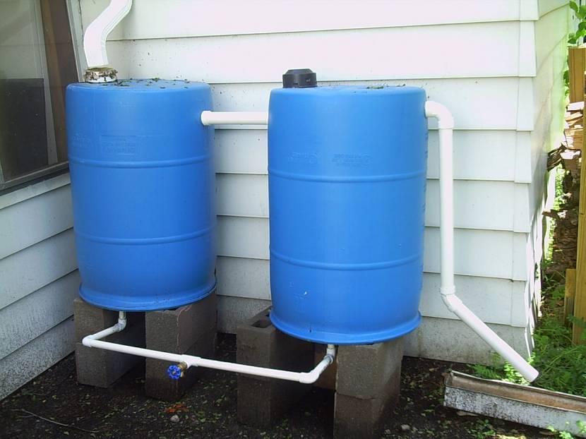 Виды лучших материалов для емкостей под хранение дождевой воды