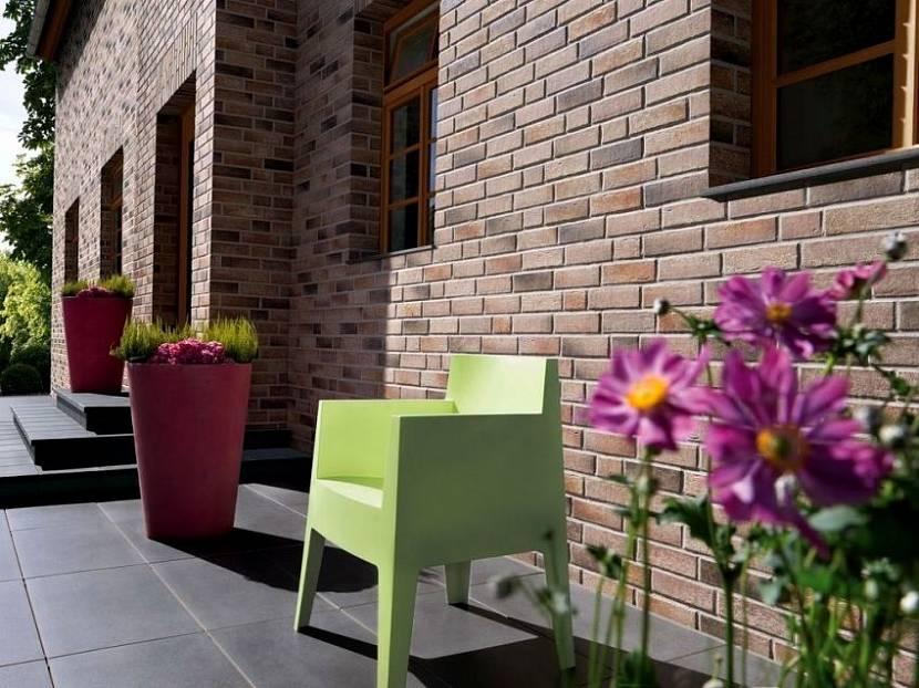 плитка для облицовки фасада дома