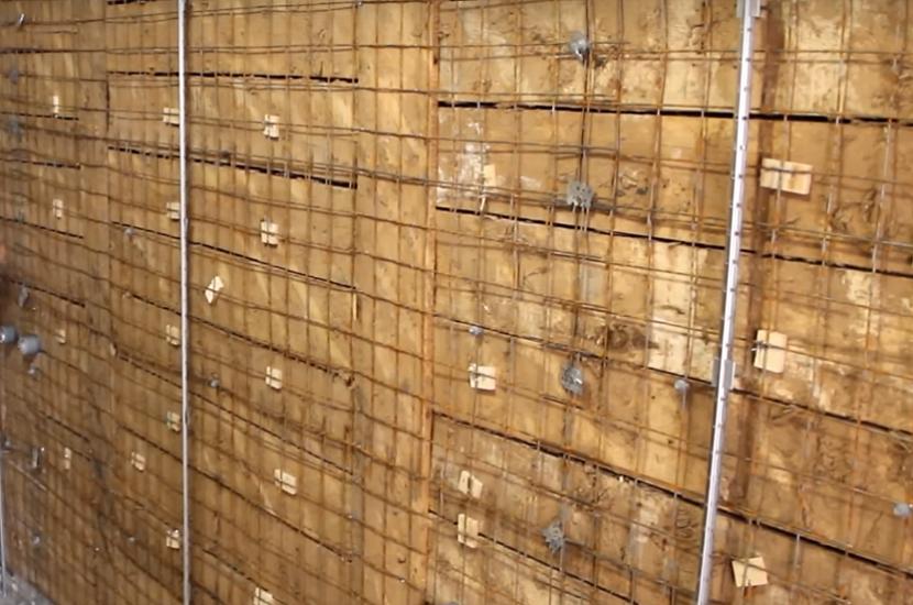 Укрепление деревянного основания