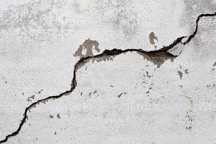 Растрескивание штукатурки от усадки здания