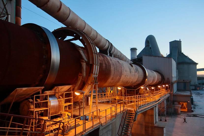 Производственная печь для обжига и смешивания цемента
