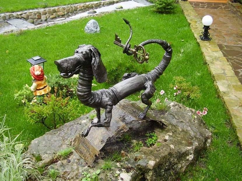 Кованые скульптуры из металла