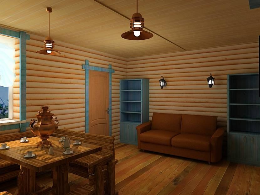 Комната отдыха бани