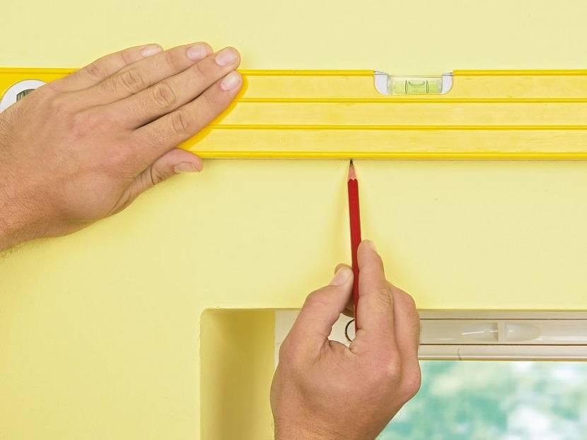 как закрепить карниз для штор на стене
