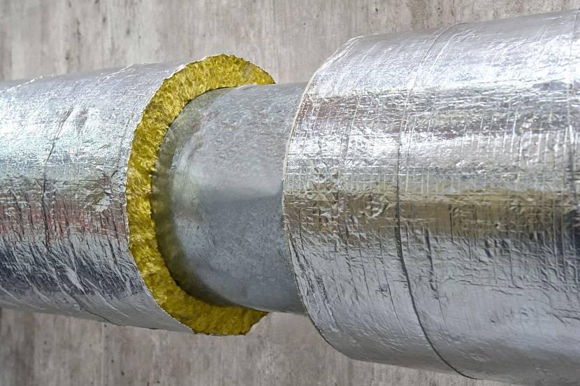 Термоизоляция трубы