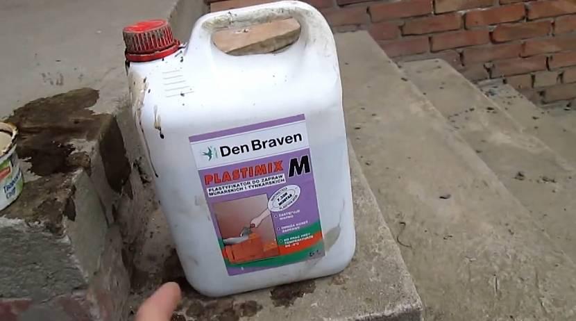Пластифицирующая добавка для бетонных растворов