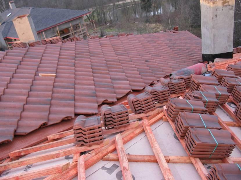 обрешетка на крышу