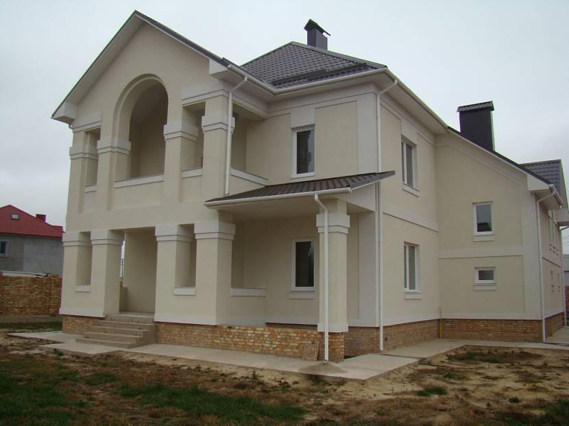 облицовка кирпичного дома