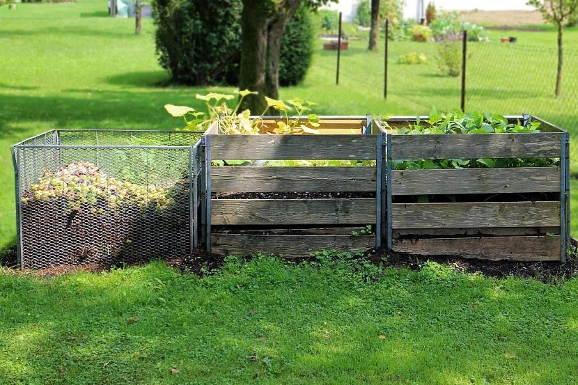Идеальное место для компостной ямы или компостников на участке