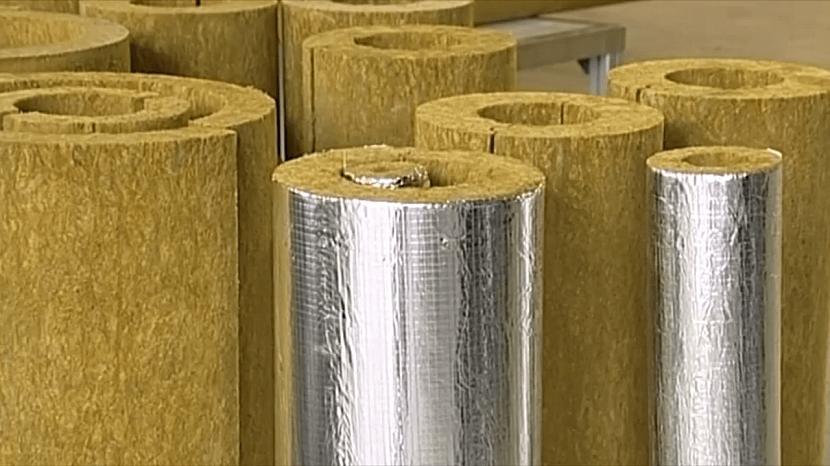 Теплоизоляционные минераловатные цилиндры