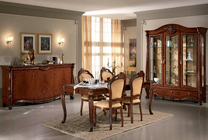 светлый орех цвет мебели