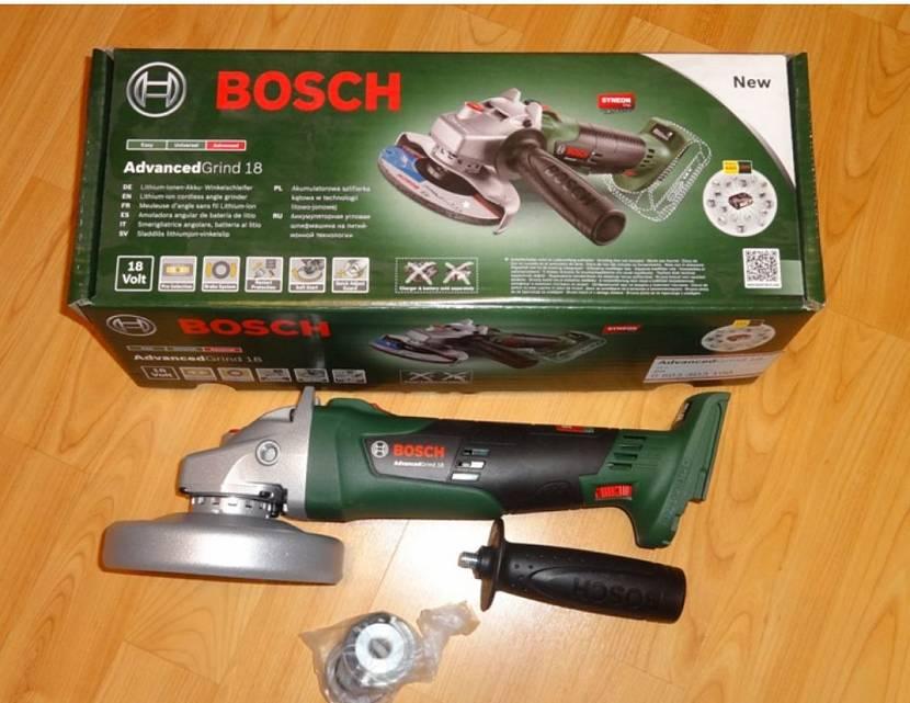 Аккумуляторная Bosch AdvancedGrind 18 06033D9000