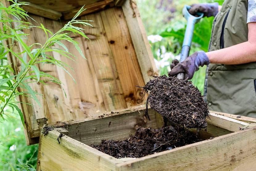 Внешний вид созревшего садового или огородного перегноя