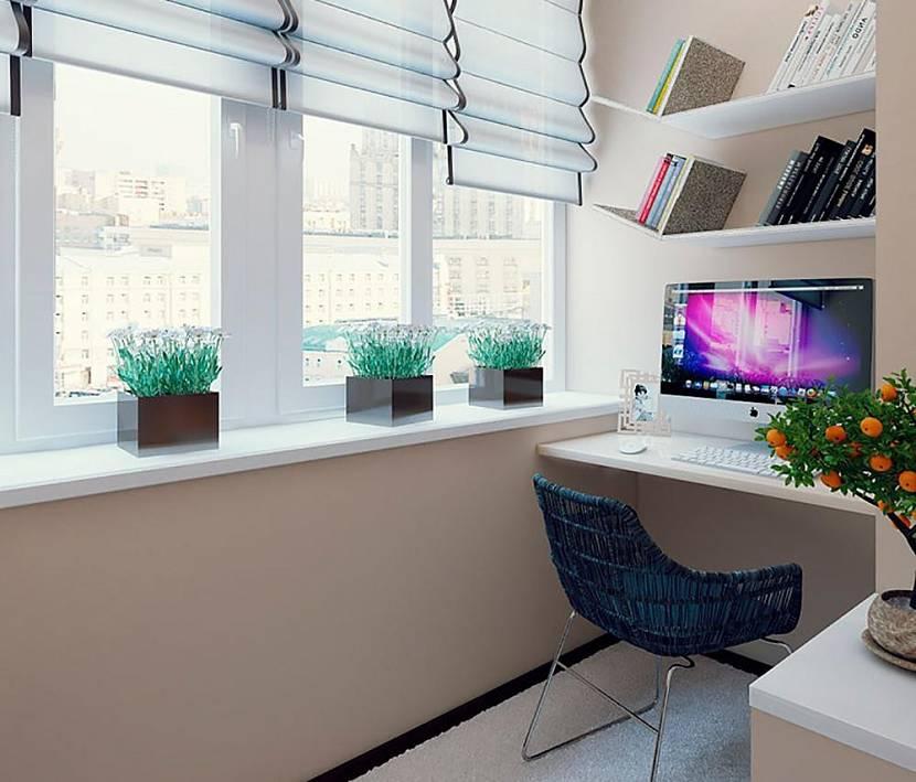 дом 5 на 6 с с компьютерным столом и книжной полкой на мансарде