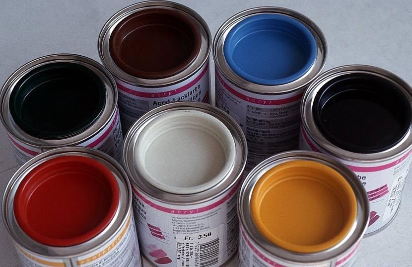 Банки с силиконовой краской