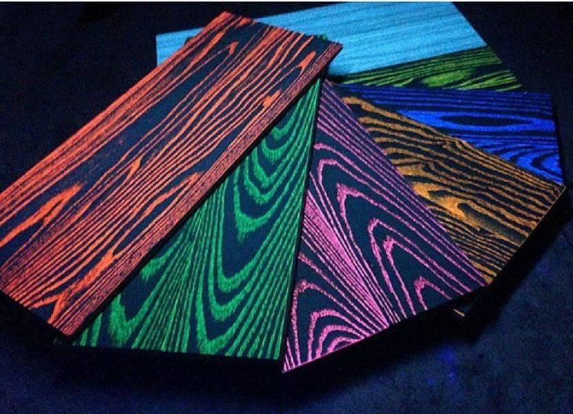 Краска на древесине