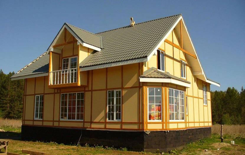 Каркасный дом за миллион