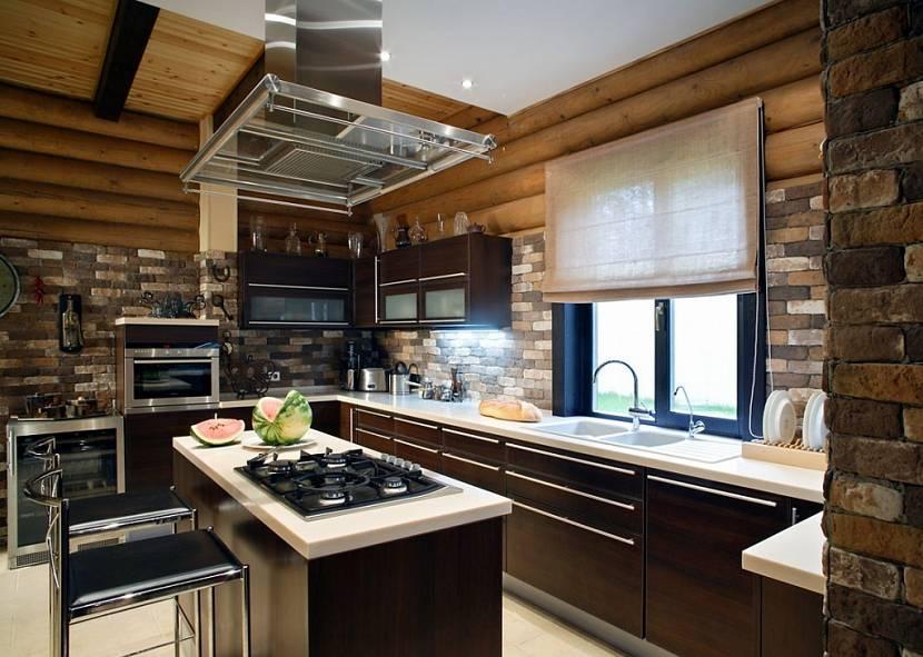 интерьеры кухонь загородных домов