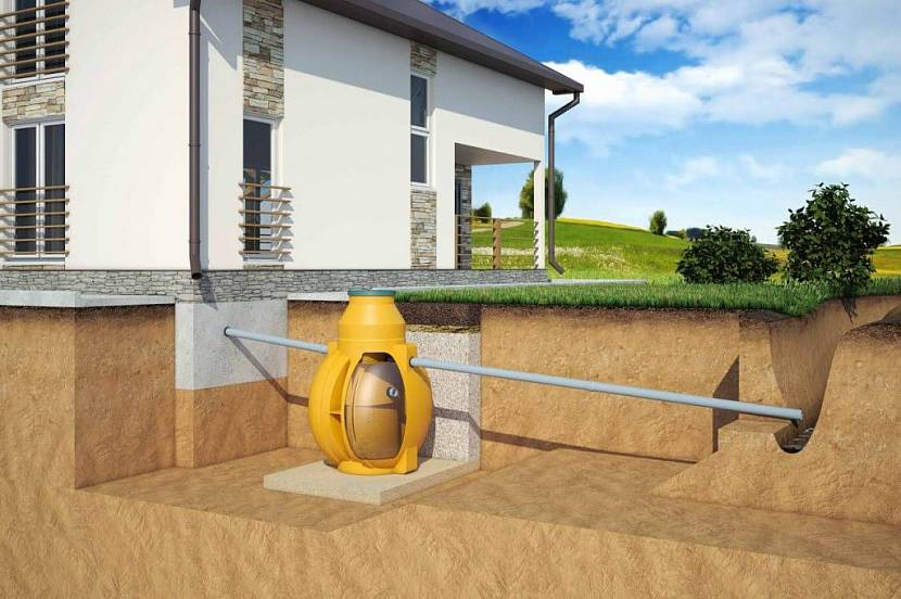 септик для уличного туалета на даче