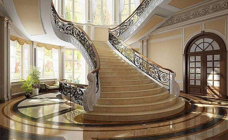Лестница в частном доме на второй этаж: лучшие дизайнерские проекты