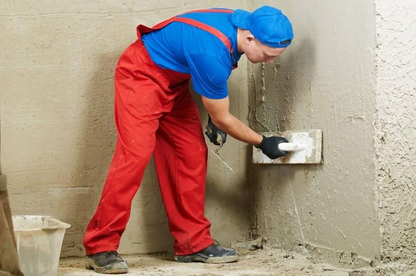 Качественное оштукатуривание стен