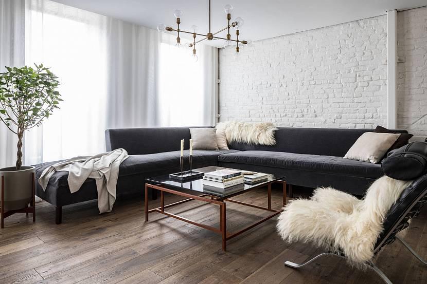 интерьер гостиной скандинавский стиль