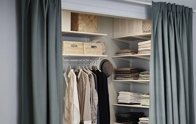 Шторы для гардеробной