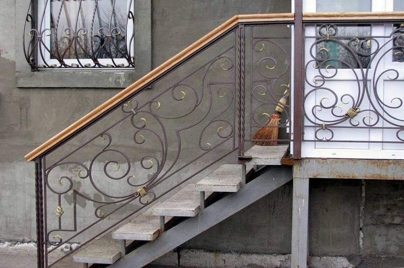 лестница вход в дом