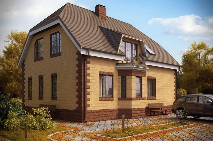 построить дом из теплоблоков под ключ цена