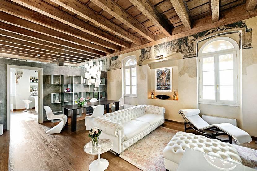 Потолок в стиле гранж