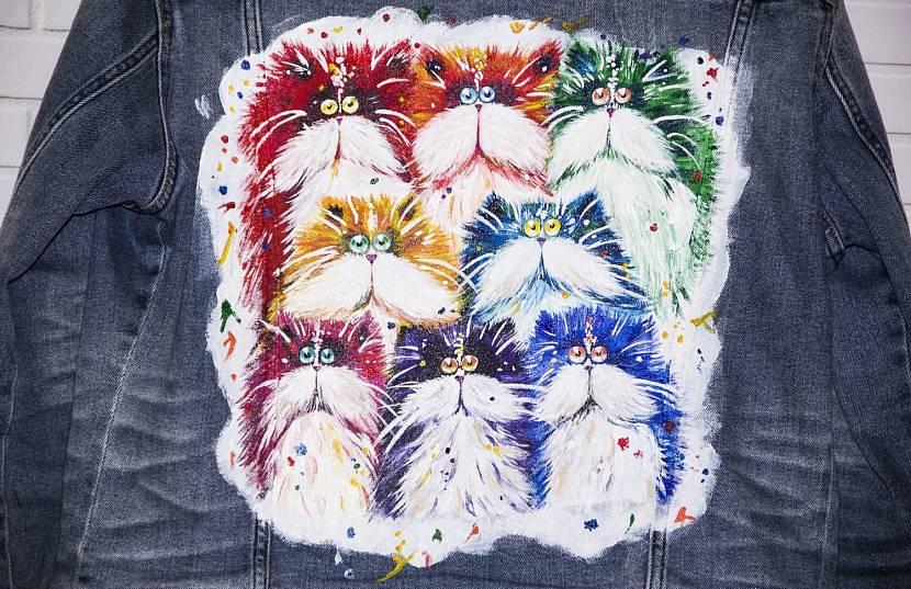 Рисование акриловыми красками по тяжелым тканям