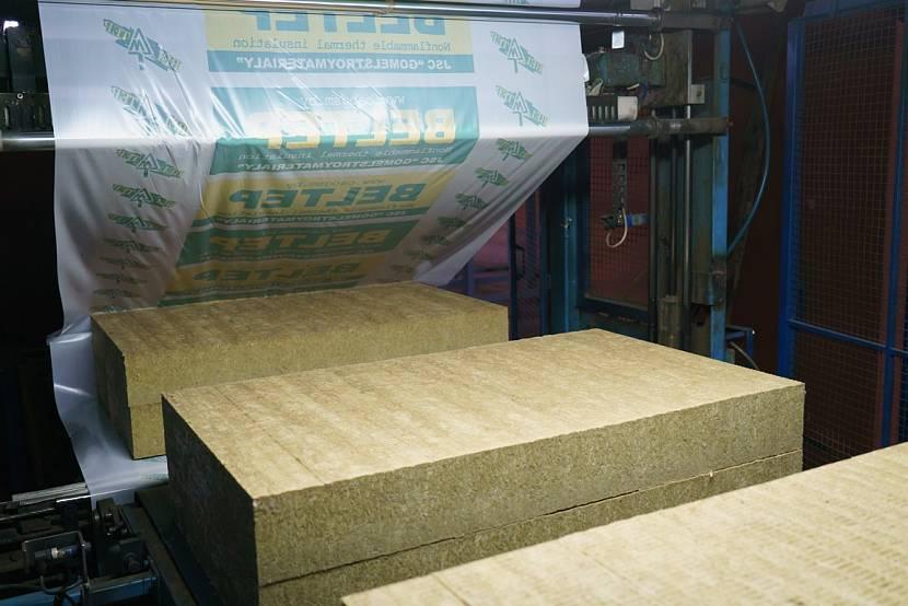 Заключительным этапом производства становится раскрой и упаковка