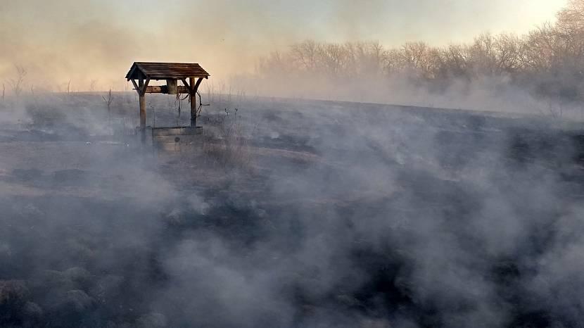 Туман над землёй подскажет где искать воду