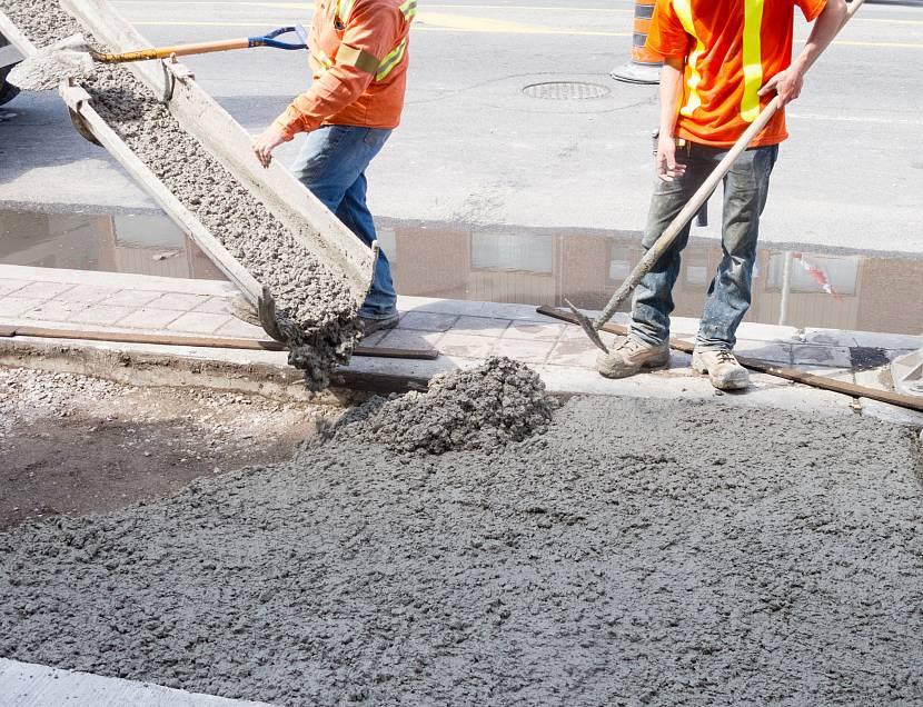 Для выполнения работ важно знать расход бетона