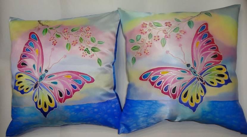 Перламутр в составе акриловых красок для текстиля