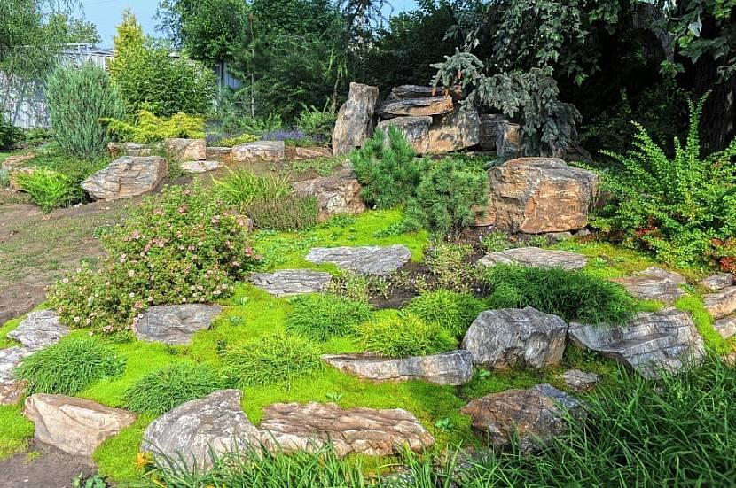 Дизайн скандинавского сада