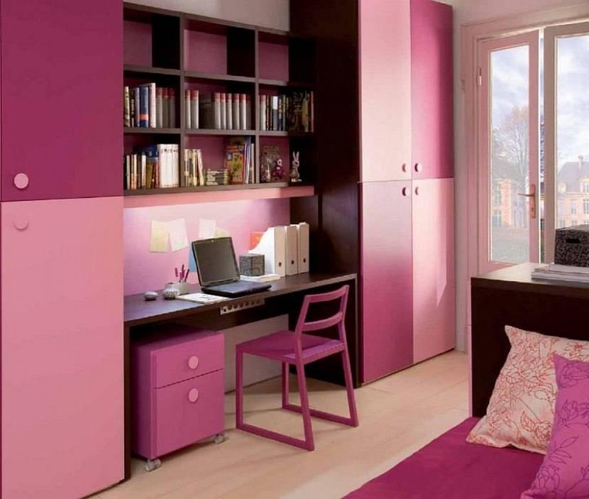 Комната для девочки школьницы