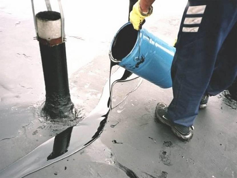 Как заливать (укладывать) гидроизол на крышу