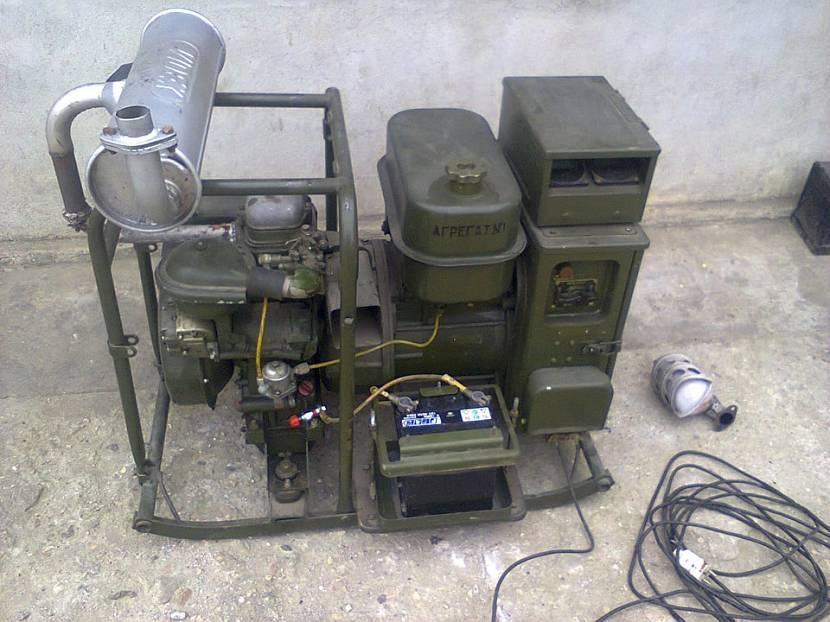 Агрегат АБ 2 Т 230 м1