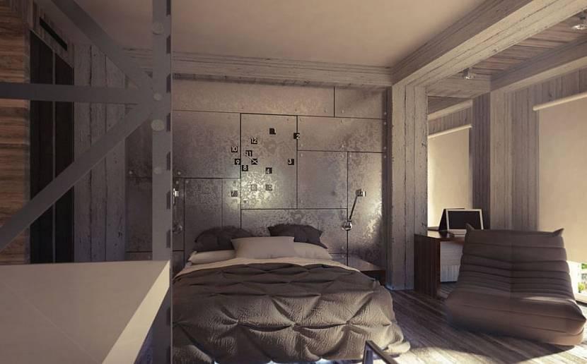 Гранж спальня