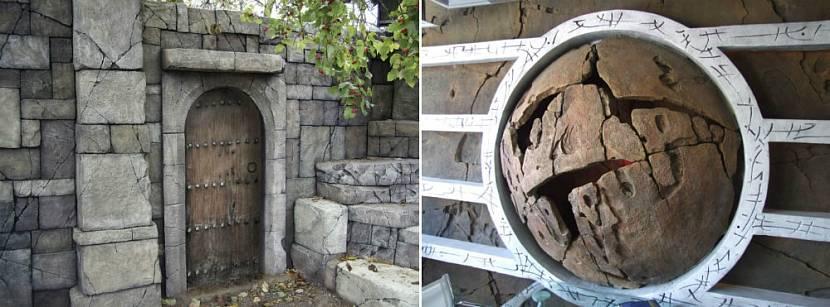 Имитация натуральных материалов из архитектурного бетона