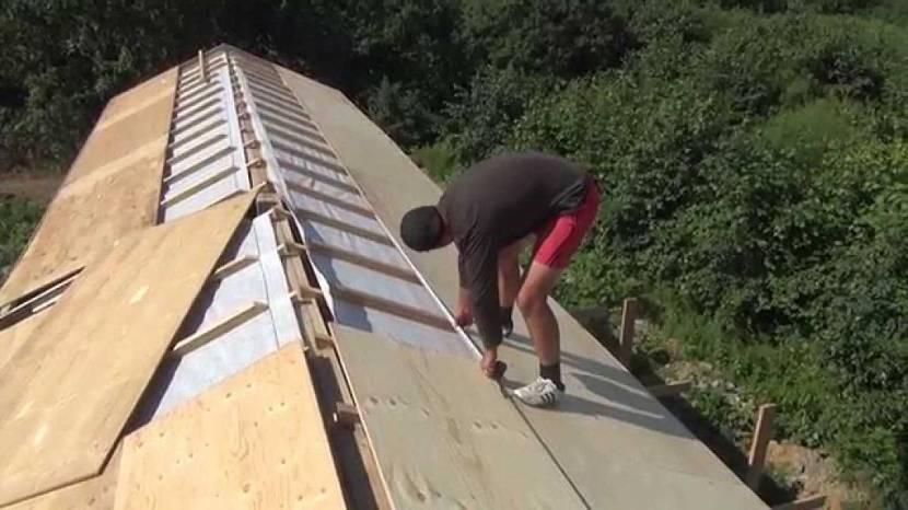 доска для обрешетки крыши