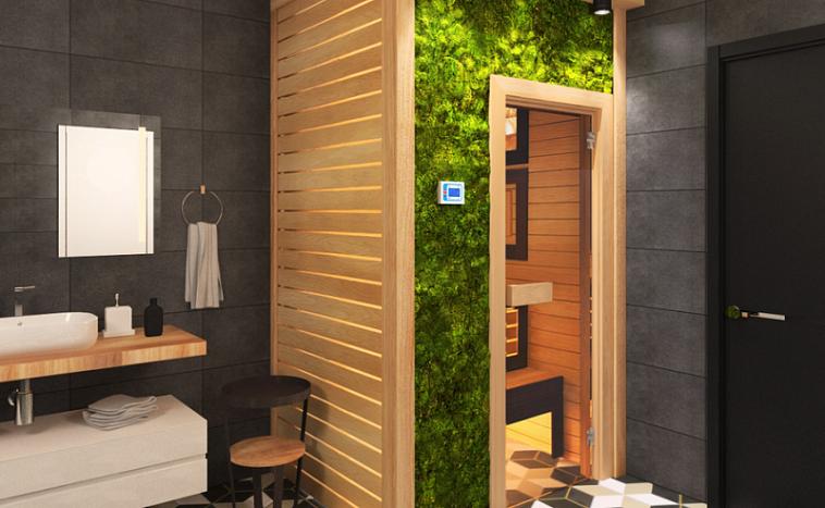 Дом-баня 6х6 «Уникальный» - проект от компании