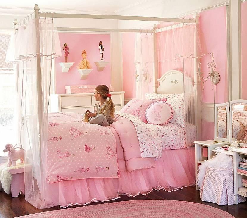 Детская комната принцессы