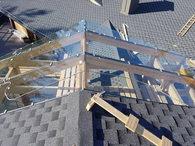 Мансардные стеклопакеты с обогревом не надо чистить от снега