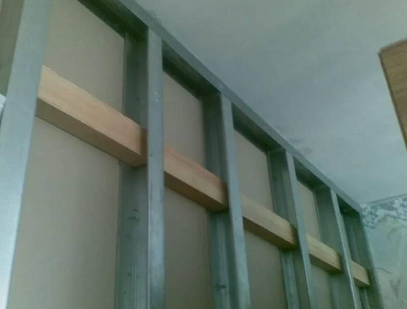 Закладная под навесной шкаф