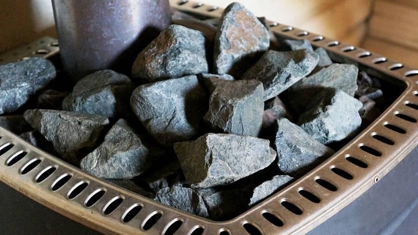 Теплообмен у колотых камней происходит интенсивнее