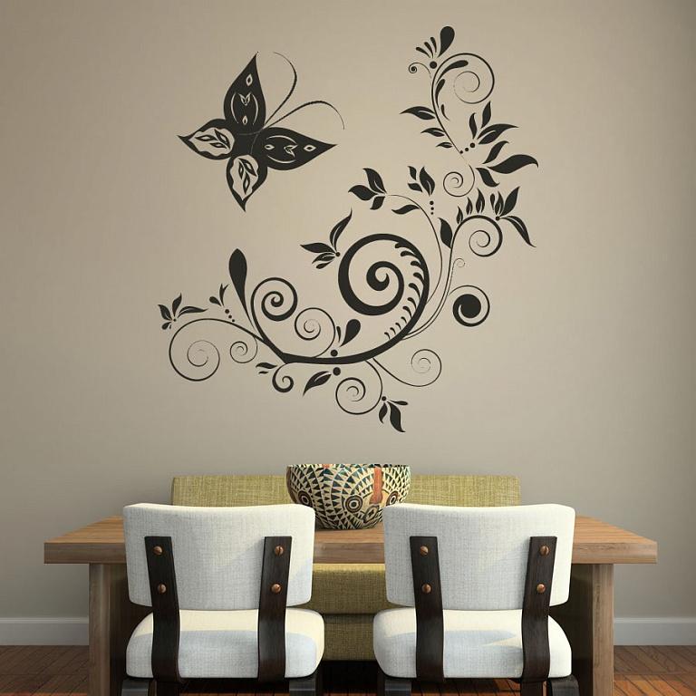 разработки декоративные рисунки на стенах своими руками факту