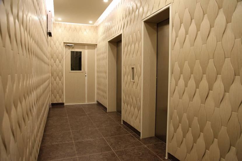 вам отделка стен в коридоре панелями фото простой способ