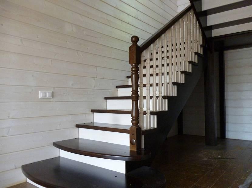 Вариант окраски лестницы